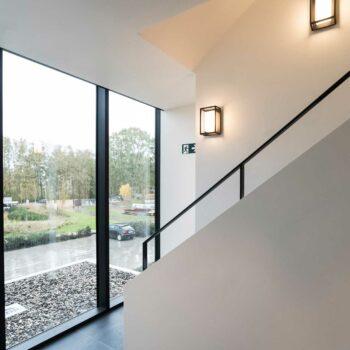 Schilderen van high-end appartementen project Sterrea Sterrebeek